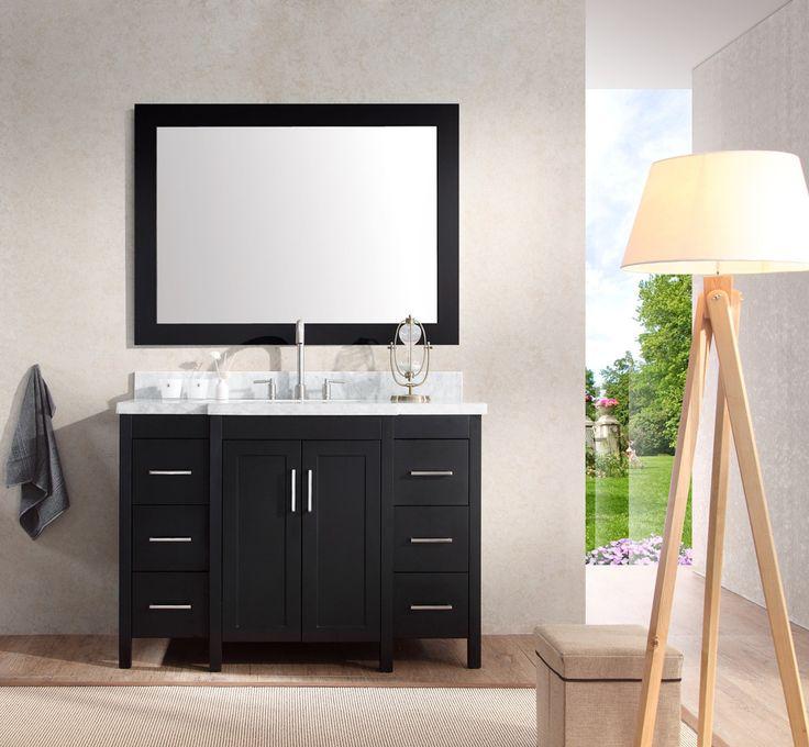 Single Sink Vanity On Pinterest Double Sink Bathroom Double Vanity