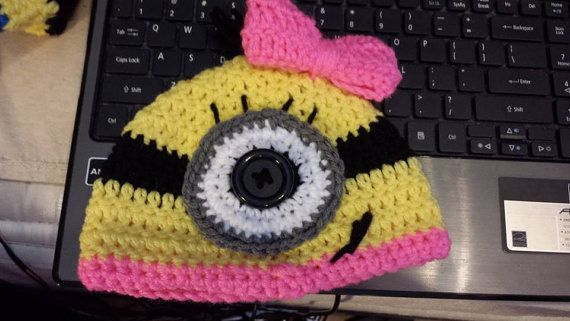 Girl Minion Hat