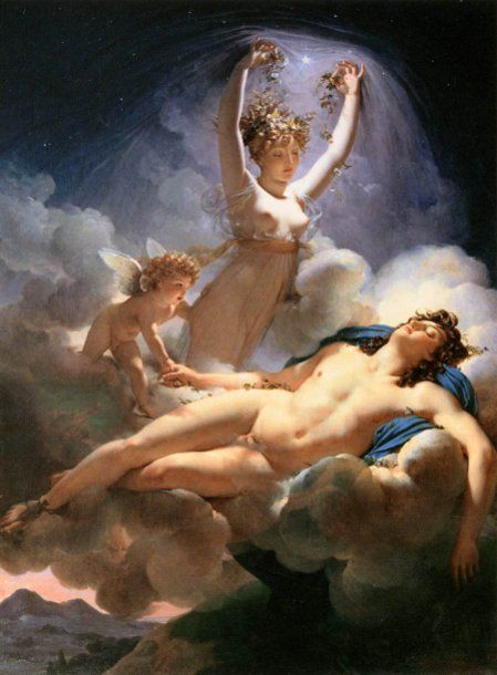 Aurora And Cephalus  Pierre-Narcisse Guérin (1774 – 1833, French)