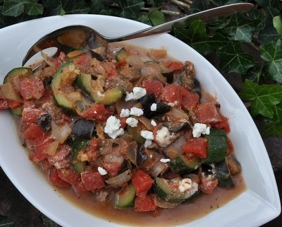 Mediterranean Eggplant  for Meatless Mondays & Beyond