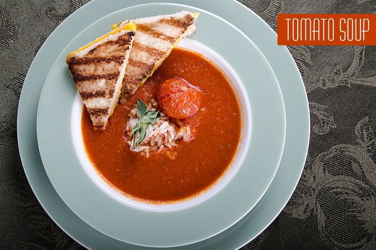 Garlic & Roasted Tomato Soup | ALL ABOUT FOOD | Pinterest