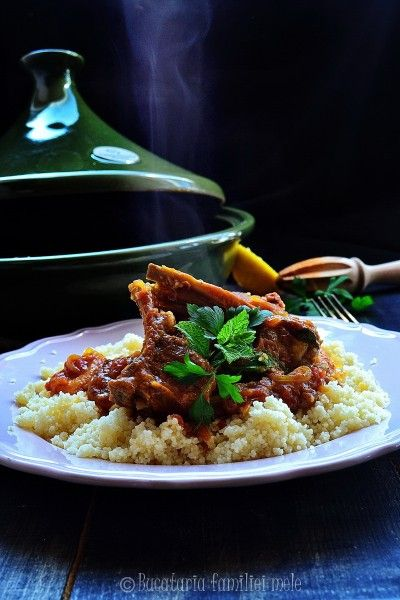 Moroccan lamb tagine with apricots | Entrees--Lamb | Pinterest