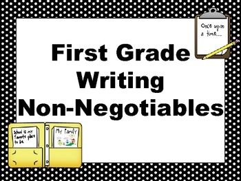 relationship non negotiables for writing
