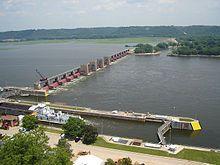 Lock and Dam 14, Bettendorf IA