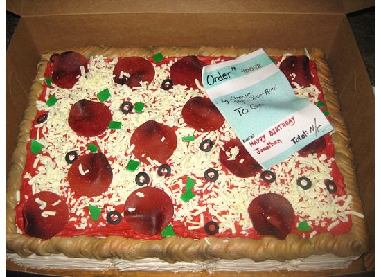 pizza birthday cake Favorite Recipes Pinterest