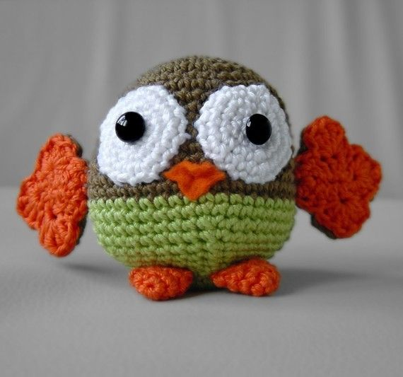 Amigurumi Patterns Owl : Amigurumi Owl Pattern