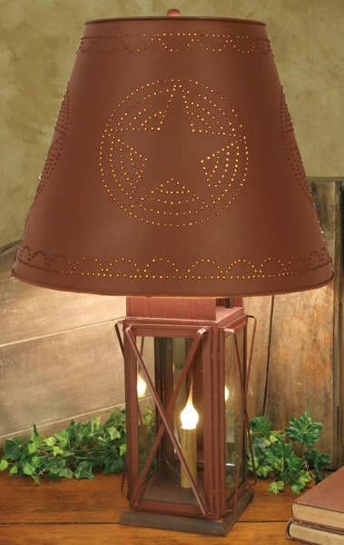 Perfect table lamp for Americana lovers.