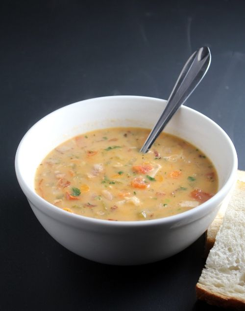 Rosemary Chicken Chowder With White Beans Recipes — Dishmaps