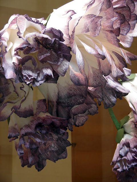 Oversized Crepe paper flowers