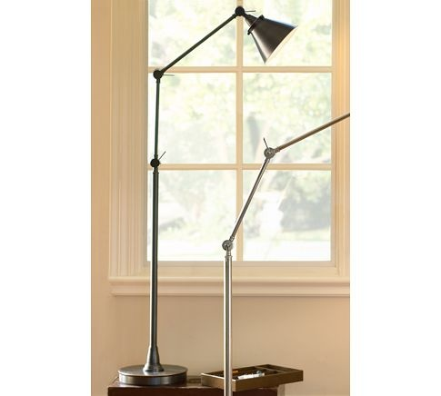 architect 39 s floor lamp pottery barn contemporary apartment pint. Black Bedroom Furniture Sets. Home Design Ideas