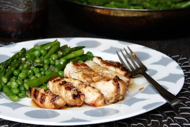 Garlic, Ginger and Sesame Marinated Grilled Chicken, an easy summer ...