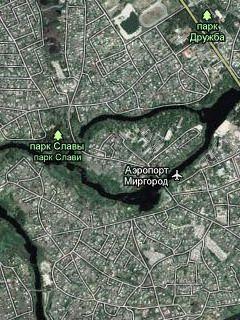 Спутниковая Карта Полтавской Области 2015