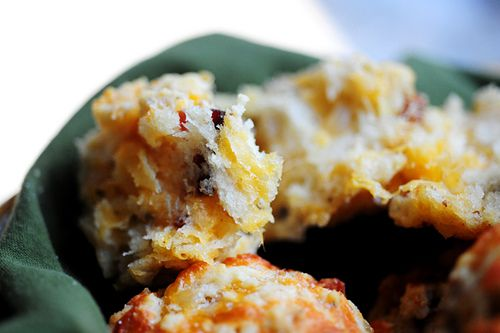PW Bacon Onion Cheddar Biscuits Can be eaten with breakfast, tomato ...