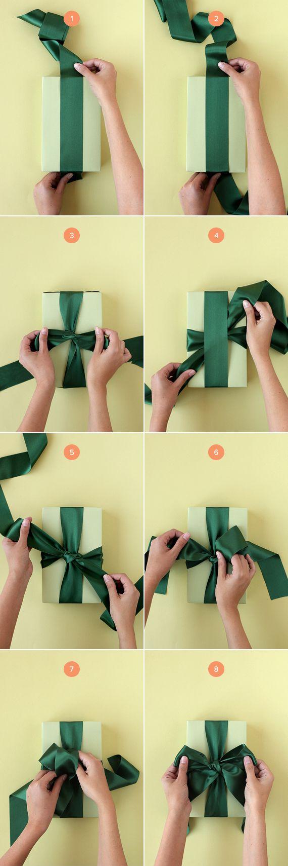 10 супер-способов сделать бант на подарок 27