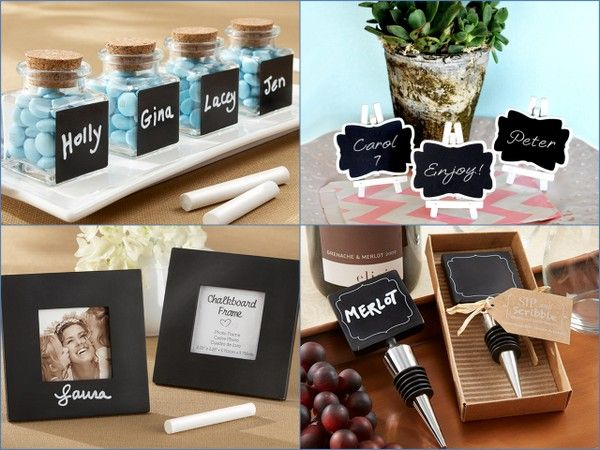 New Chalkboard Wedding Favors