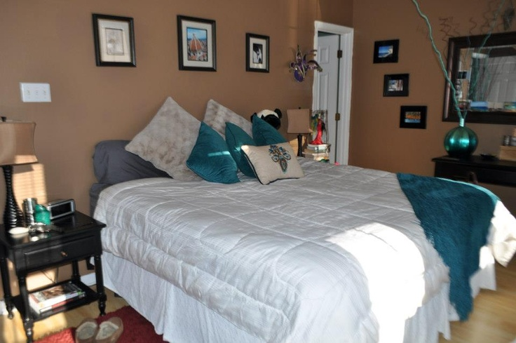 turquoise and brown bedroom home inspirations pinterest