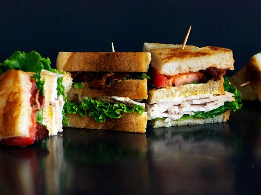 Classic Club Sandwich | Recipes to try | Pinterest