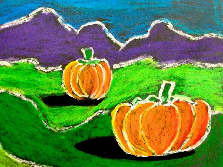 4th grade landscape art projects for fall pinterest for Landscape art projects