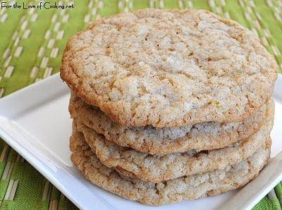 For the Love of Cooking » Coconut and Lime Sugar Cookies
