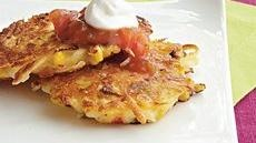 Cheddar-Potato Corn Cakes 1 bag (20 oz) refrigerated cooked shredded ...