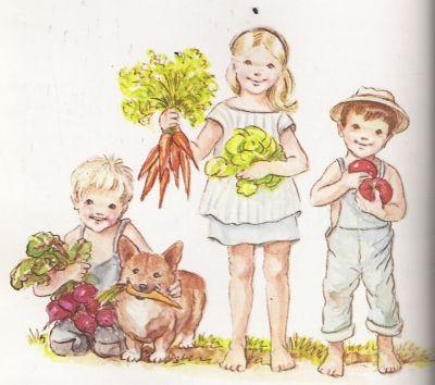 From Eigenwijs, landelijk geinspireerd bloggen - illustration - Tasha Tudor