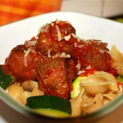 Meatball Nirvana ~~~ Loved them! Used our favorite pasta sauce ...