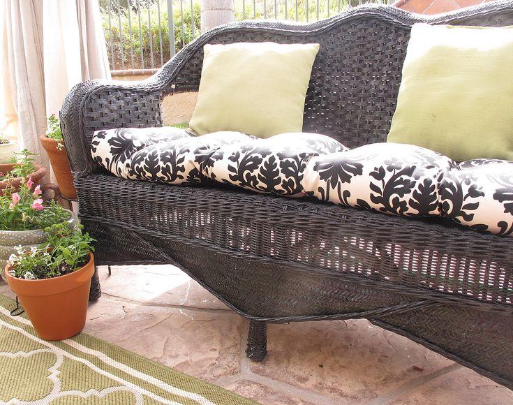 Painting Wicker Furniture Craft Ideas Pinterest