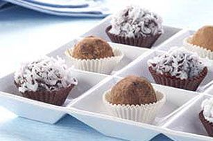 Bittersweet Chocolate Truffles recipe