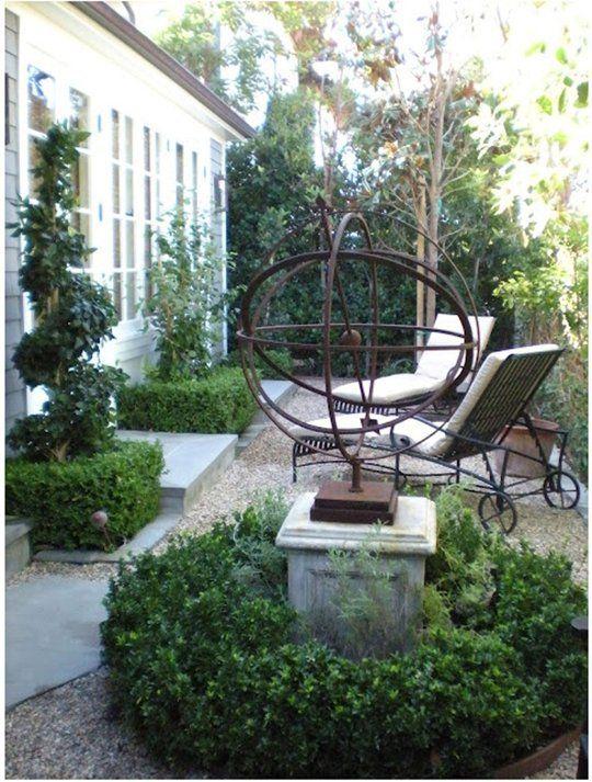 Garden design classics the armillary sphere for Sphere garden design