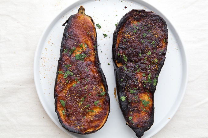 Roasted Eggplant with Miso Lime Dressing | Recipes: Sides + Salads ...