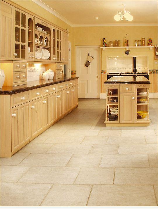 Zeus flooring beige kitchen danheldrew interior for Beige kitchen ideas