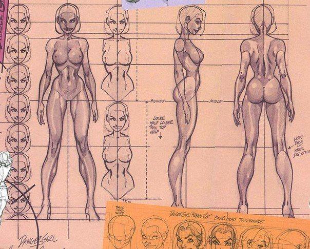 Как Рисовать Обнаженное Тело