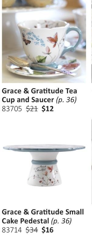 Grace amp gratitude small pedestal amp amp tea cup amp saucer love vintage