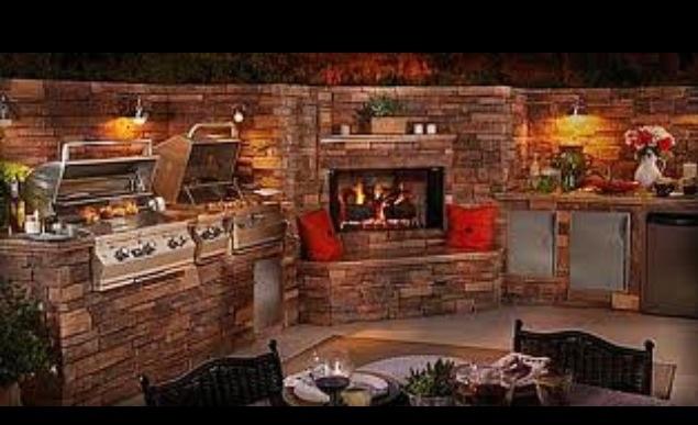 Ultimate Outdoor Kitchen Outdoor Kitchens Pinterest