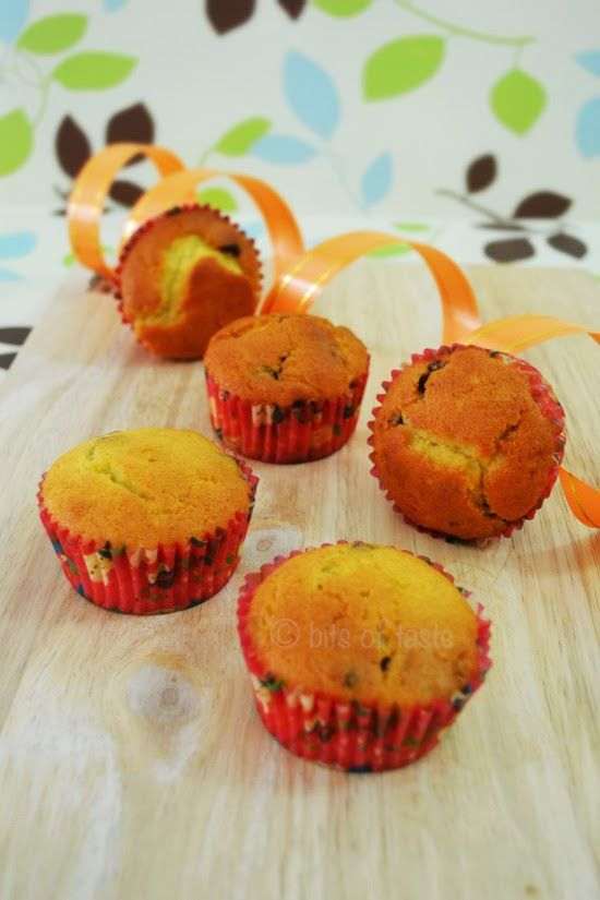 Bits of Taste | Every bits of food and taste!: Cranberry Lemon Muffins