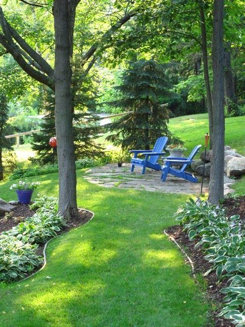 la belle jardin diy garden sitting areas
