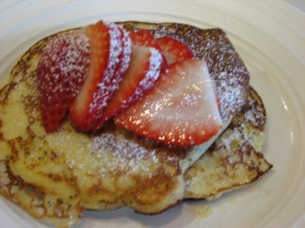 Four Seasons' Lemon Ricotta Poppy Seed Pancakes | Recipe