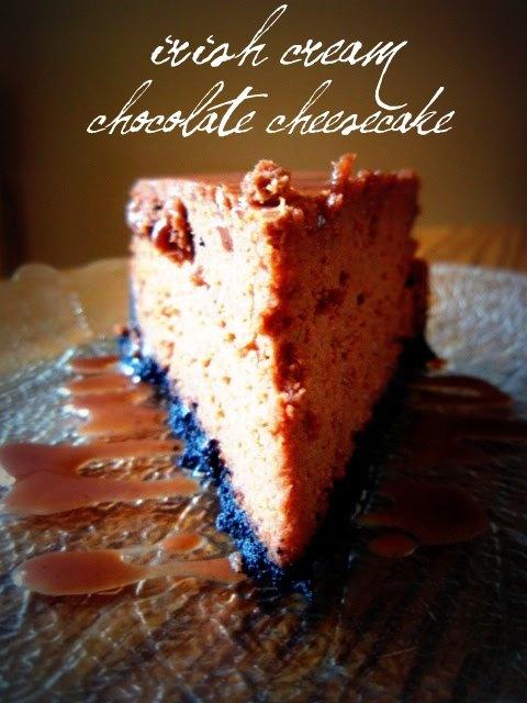 Southern Grace: Irish Cream chocolate cheesecake