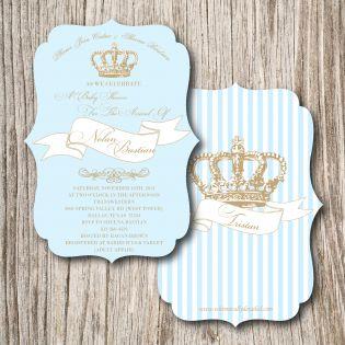 royalty baby shower blue baby shower pinterest