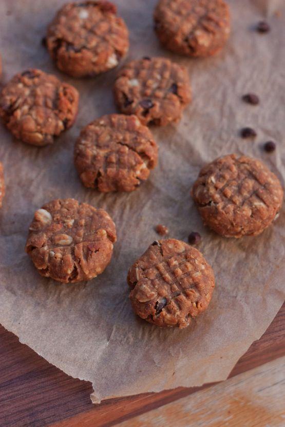 Flourless Peanut Butter Protein Cookies   Recipe