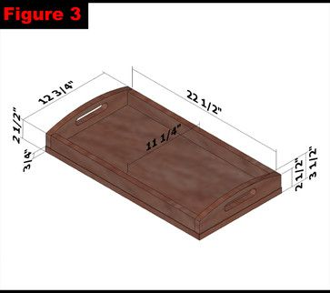Beautiful Wood Serving Tray Plans PDF Plans Wood Projects For Girls