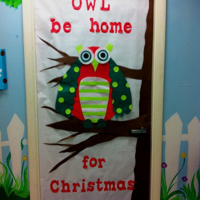 Pinterest classroom door decorations for christmas just for Nursing home door decorations