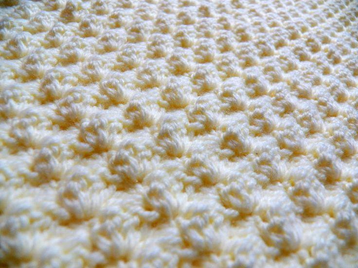 Crochet Stitches Crochet Popcorn Stitch : popcorn stitch crochet blanket Crochet Afghans Pinterest
