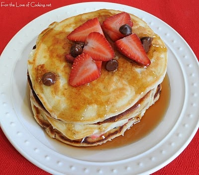 For the Love of Cooking » Neapolitan Pancakes