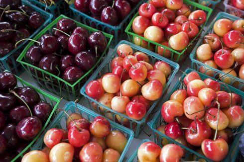 Fresh Cherry Ice Cream | Sweets | Pinterest