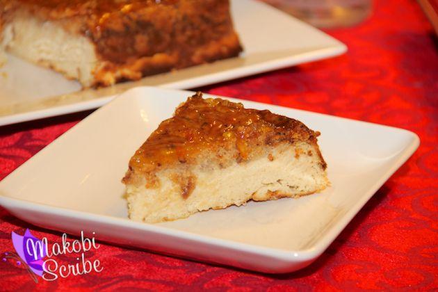 Vodka Creamsicle Cheesecake | Recipe