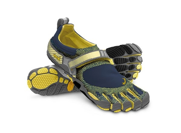 Vibram Fivefingers Bikila Black / Yellow - Barefoot running shoes are