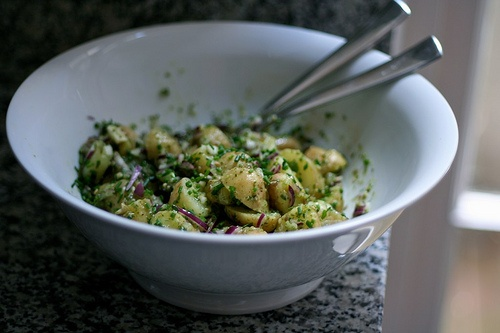 Herbed New Potato Salad | Delicious Sides | Pinterest