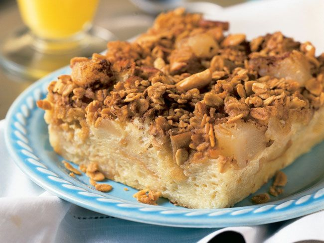 PNCPS - Foodservice Recipes - Stormy Day Breakfast Bread Pudding
