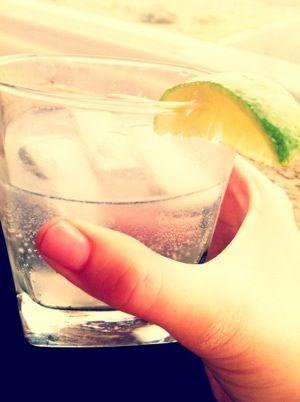 Vodka tonic....it's 5 o'clock somewhere!